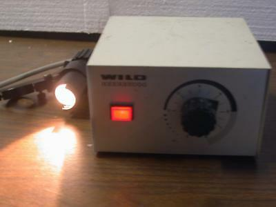 Wild Heerbrugg Leitz Mtr-22 Microscope Power Supply With Light Cable Leica