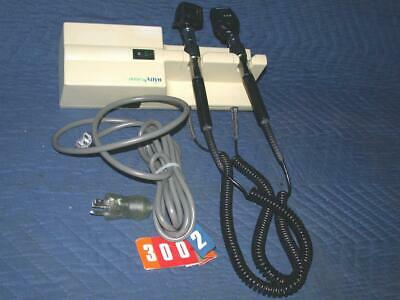 Welch Allyn Otoscope 767 Series Wall Transformer Ophthalmoscope 11720 25020