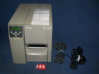 #2 Zebra S4M Industrial Thermal Transfer Label Printer S4M00-2001-0100T comprar usado  Enviando para Brazil