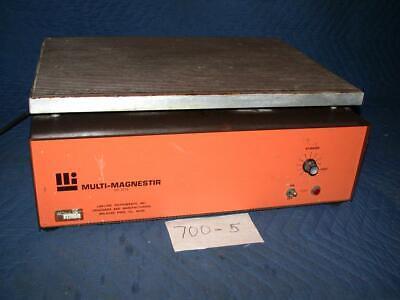 Lab-line Multi-magnestir 1278 Multiposition Magnetic Stirrer 6 Positions Works