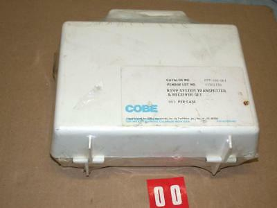 Cobe Rsvp Systems Bed Patient Monitor 077-100-001 Transmitter Set New Free Sh