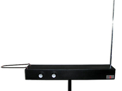 Burns B3 Deluxe Theremin   Longer Case   Newest Model   Loop And Rod Antennas