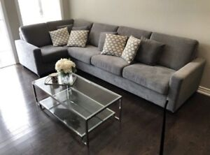 Custom build sectional couch