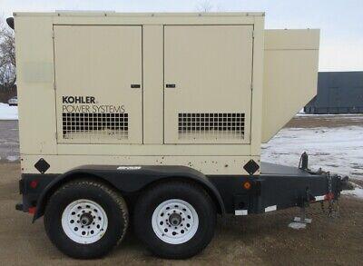33 Kw Kohler John Deere Trailer-mounted Diesel Generator 2.9l Jd Genset