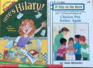 Back to school themed children's books