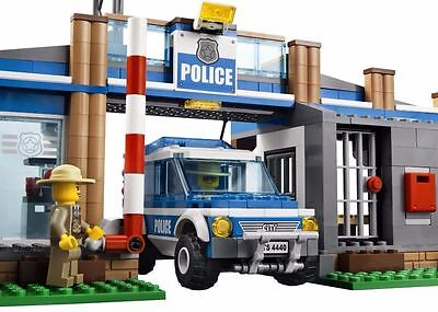 LEGO POLICE CITY RESCUE CAR Edible Cake Topper Frosting Sheet Birthday Party - Party City Birthday Cake Toppers