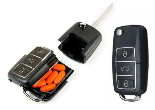 1Car Key stash Secret Diversion Safe Stash Can Box Hidden Hiding Compartment+key