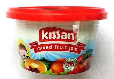 India Sweet Fruit - Kissan Mixed Fruit Jam  100 GM  Vegetarian  Sweet  Mixed Fruit  Jam