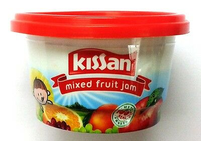 Kissan Mixed Fruit Jam :: 100 GM :: Vegetarian :: Sweet :: Mixed Fruit :: Jam