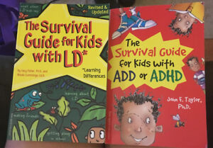 Survival Guides. ADHD and LD for kids