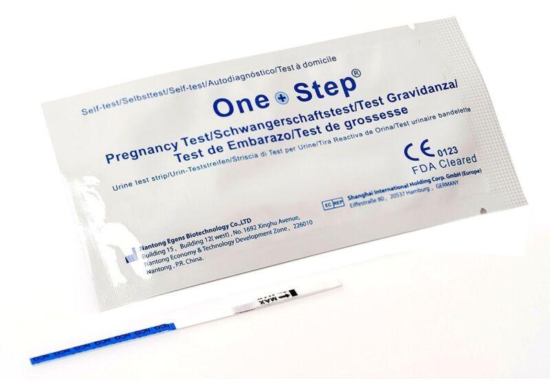50 x Schwangerschaftstest One+Step - Ultrafrühtest 10 miu/ml - Sofortversand