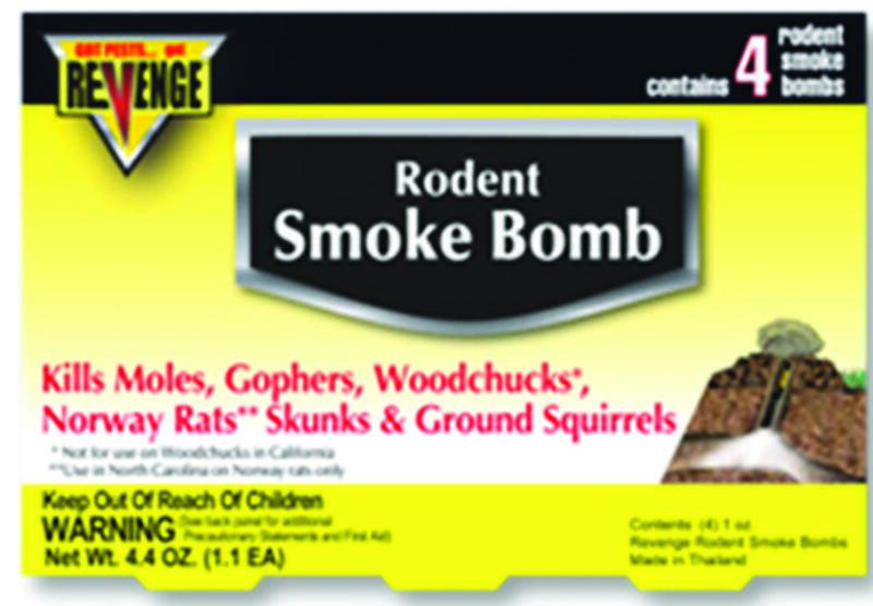 Bonide Revenge Mole and Gopher Gasser, Dark Gray