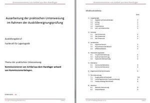 ADA Schein AEVO praktische Unterweisung Ausarbeitung 98 Punkte+Ablauf Prüfung