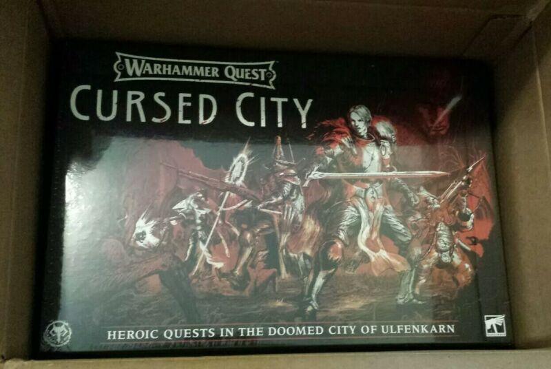 Warhammer Quest Cursed City age of sigmar ulfenkarn