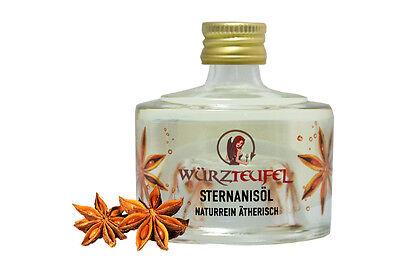 Lebensmittel Anis Öl (Sternanisöl, naturreines ätherisches Sternanis - Öl. Spitzenqualität aus Indien.)
