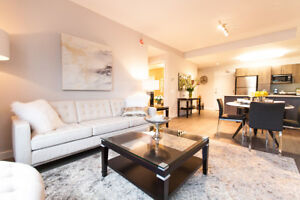 Stunning 2 BR, 2 Bath Suite in New Luxury Apartment Building
