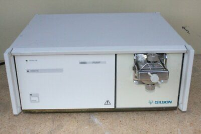 Gilson 306 Hplc Lc Chromatography Pump 50 Sc Head Warranty