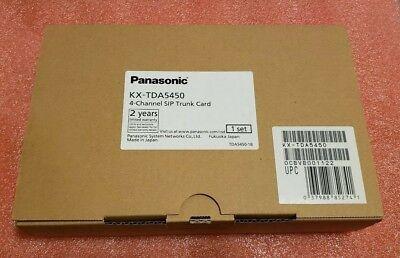 New Panasonic Kx-tda5450 4-port Sip Trunk Card Kxtda5450