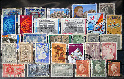 Greece-Lot stamps (ST409)