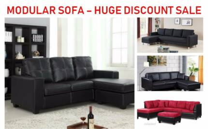 New Modular Sofas - Special Discount Sale - 5 Designs