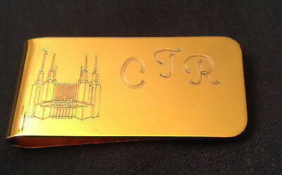 Personalized Custom Engraved Brass or Stainless Steel Money Clip - Personalized Money Clip