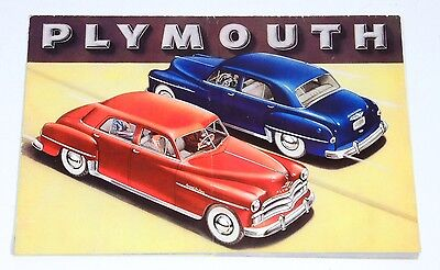 Vintage 1950 PLYMOUTH Dealer Sales Brochure Booklet Special De Luxe