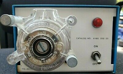Millipore Fixed Speed Peristaltic Pump Xx80-200-00 W Cole-parmer Head 7015-72