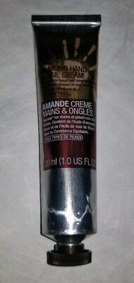 The Body Shop Hand ALMOND Hand and Nail cream Travel 1 oz 30ml