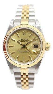 ROLEX Datejust 18K Gold & Stainless Steel Ref. 79173 Women