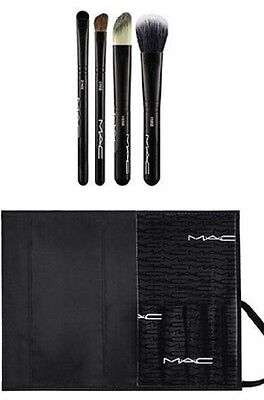 New MAC Cosmetics Look in a Box ADVANCED Brush Set super fast fast shipping! for sale  Rush City