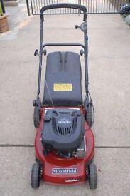 Mountfield 18in cut petrol rotary mower
