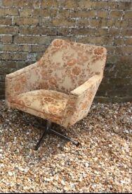 Vintage retro mid century chair