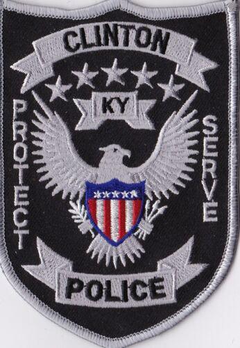 Clinton Police  KY Kentucky Police patch