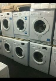 Washing machines on sale warranty included starting prices £79.99