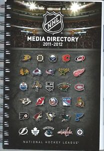2011-12-Official-NHL-Hockey-Media-Directory-Guide