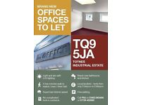 Brand new office spaces to rent in Totnes