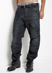 "G STAR Raw Homme SCUBA 5620 LOOSE Jeans 28 ""x 34"" Bnwt"