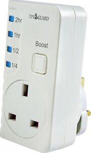 Timeguard TGBT6 Plug In Countdown Timer Boost Time Switch 2hr 1hr 1/2hr 1/4hr