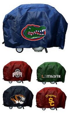 NCAA 68 Inch Vinyl Economy Gas or Charcoal Grill Cover -Select- Team Below ()