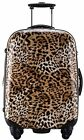 Ambassador Leopard Print Travel Luggage