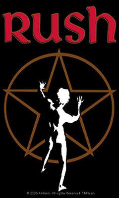 Rush - Starman Logo Sticker