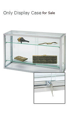 New Retail Upright Glass Countertop Watch Jewelry Display Case 18h X 8d X 30l