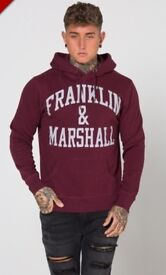New Men's Franklin And Marshall hoodie size large
