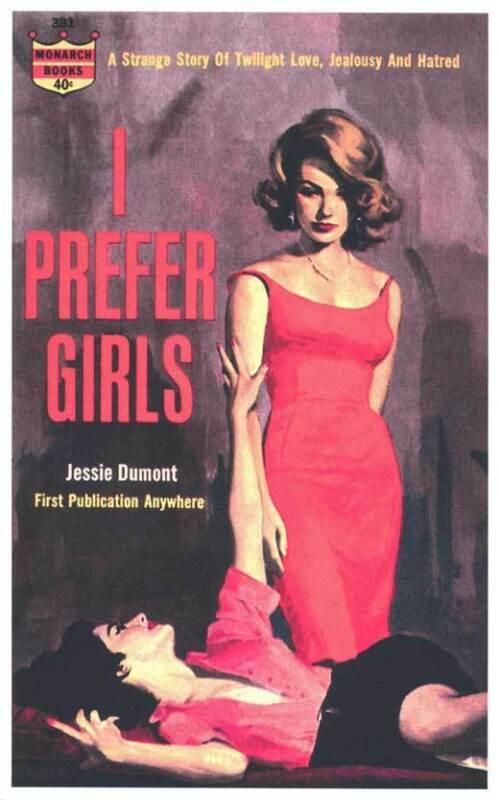 I PREFER GIRLS Movie POSTER 11x17 Retro Book Cover