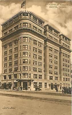 For sale Texas, TX, Austin, Littlefield Building Albertype Co Postcard