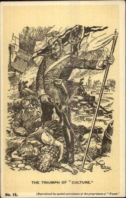Satire Anti-German Propaganda Kaiser Wilhelm Over Dead Bernard (Bernard Wilhelm)