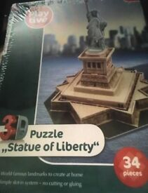 3D Statue of Liberty puzzle (new)