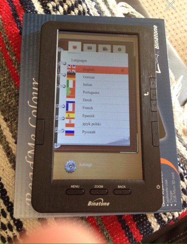 Read me colour tablet