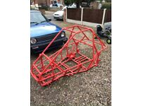 Biz Kart JK7 Off Road Buggy chassis and Subframe.