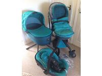 Mamas and papas travel system pram car seat